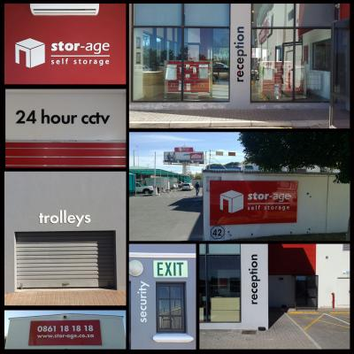 Stor-Age - Various Signage